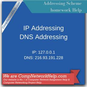Addressing Scheme Assignment Help