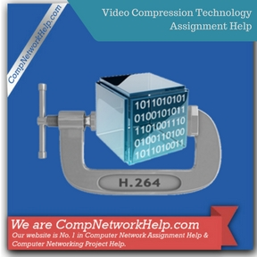 Video Compression Technology Assignment Help